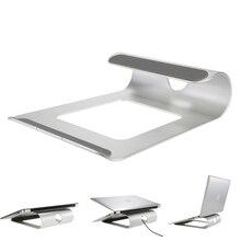 Алюминиевая Подставка для ноутбука настольная док-станция держатель кронштейн для охлаждения охлаждающая подставка для MacBook Pro/Air/iPad/iPhone/ноутбук/планшет/ПК/смартфон