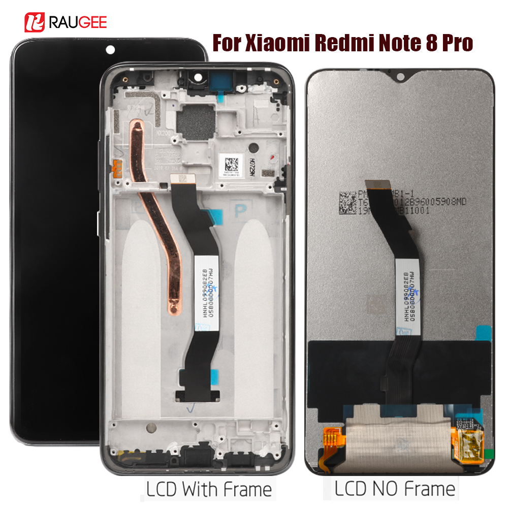 Display For Xiaomi Redmi Note 8 Pro Lcd Display Touch Screen Replacement For Redmi Note 8 Pro Display Touchscreen Digitizer