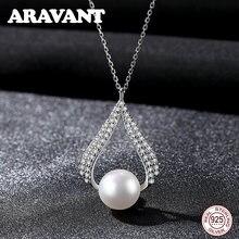 Женское ожерелье из серебра 925 пробы