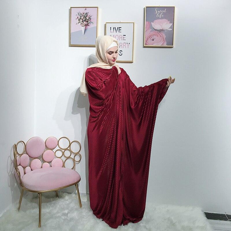 Open Abaya Kimono Hijab Muslim Dress Turkish Islamic Clothing Abayas For Women Djelaba Femme Caftan Dubai Kaftan Robe Musulman
