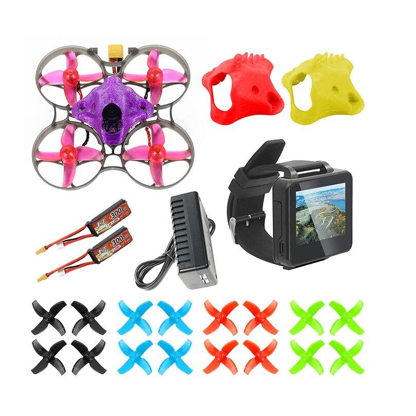 DIY FPV Racing Drone RC Quadcopter BNF mit Mobula7 V3 75MM Rahmen Crazybee F4 Pro V2.1 2 3S Flug Controller SE0802 Motoren Teil - 3