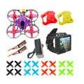 DIY FPV Rennen Drone RC Quadcopter BNF mit Mobula7 V3 75MM Rahmen Crazybee F4 Pro V2.1 2 3S Flug Controller SE0802 Motoren Acce
