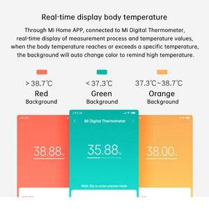 Image 2 - Originele Xiaomi Mi Digitale Thermomether Medische Ondersteuning Mi Thuis App Quick Nauwkeurige Modus Weten Sneller Nauwkeurige Orale Oksel Maatregel
