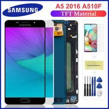 AAA + качественный ЖК-дисплей для Samsung A5 2016 ЖК-дисплей A510 A510F A510M SM-A510F сенсорный экран дигитайзер ЖК-дисплей в сборе Замена