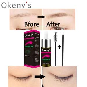 Image 3 - 15ml Castor Oil Eyebrow Growth Serum Hair Growth Serum Eyelash Enhancer Growth Lifting Eyelashes Thick Eye Lashes Mascara