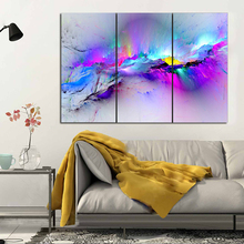 3 Pieces/set Wall Painting Prints Poster Colorful Canvas Quadro Decor Abstract Print Picture Home