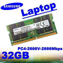 Samsung Ram Laptop DDR4 32GB 2133P 2400T 2666V Memori Pc4-2133Mbps 2400Mbps 2666Mbps 1333MHz 1600MHz 1866MHZ 4GB 8Gb 16GB 2GB(China)