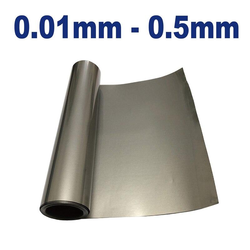 Titanium Ti Thin Plate Sheet Foil TA1 Metalworking Supplies