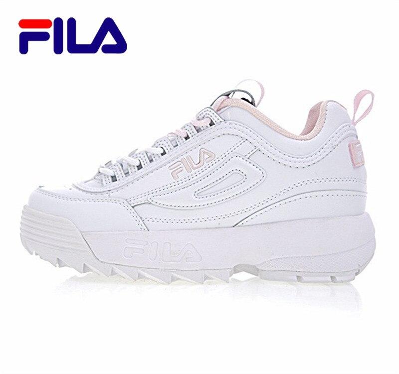 FILA Disruptor II 2 Women Running Shoes Retro Sports Sneaker Non Slip Damping Summer Footwear For Women Increase Shoe Sneaker