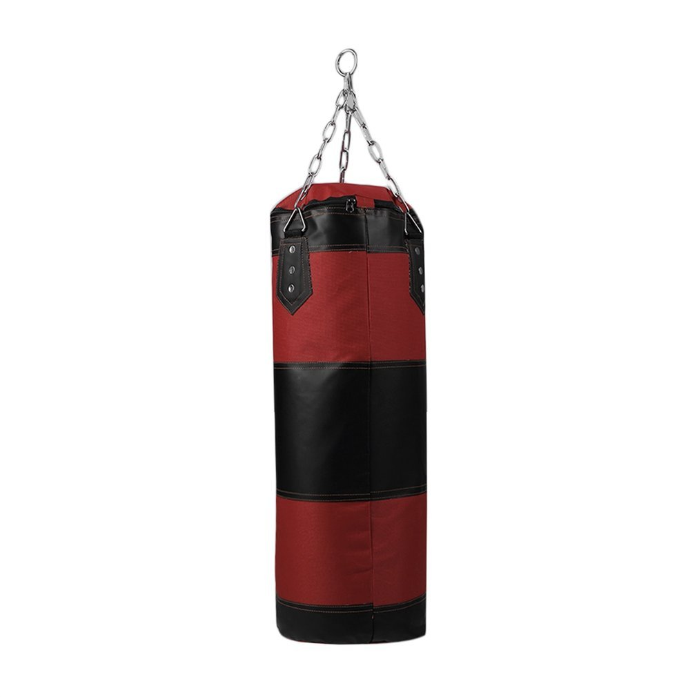 70cm Boxing Punching Bag Boxing Sandbags Striking Drop Hollow Empty Sand Bag Punch Target Training Fitness MMA Hook Hanging Kick