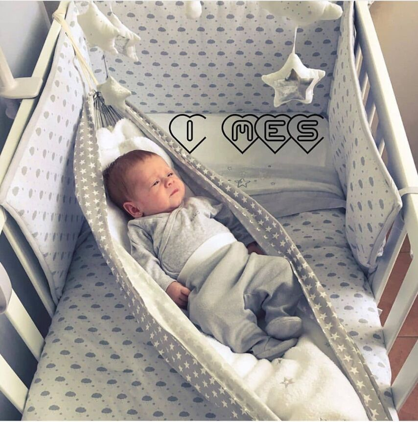INS Baby Hammock For Crib Child Hammock Swing Baby Rocking Chair Indoor Outdoor Hanging Basket Kids Cotton Cartoon Hammock Swing