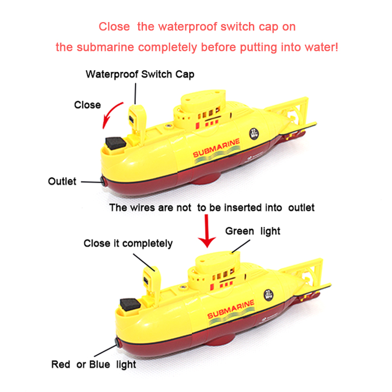 Image 4 - RC boat  Mini Submarine RC Speedboat  High Powered 3.7V Large Model RC  toys Submarine Outdoor  with the Model Electric Kids toy-in RC Submarine from Toys & Hobbies