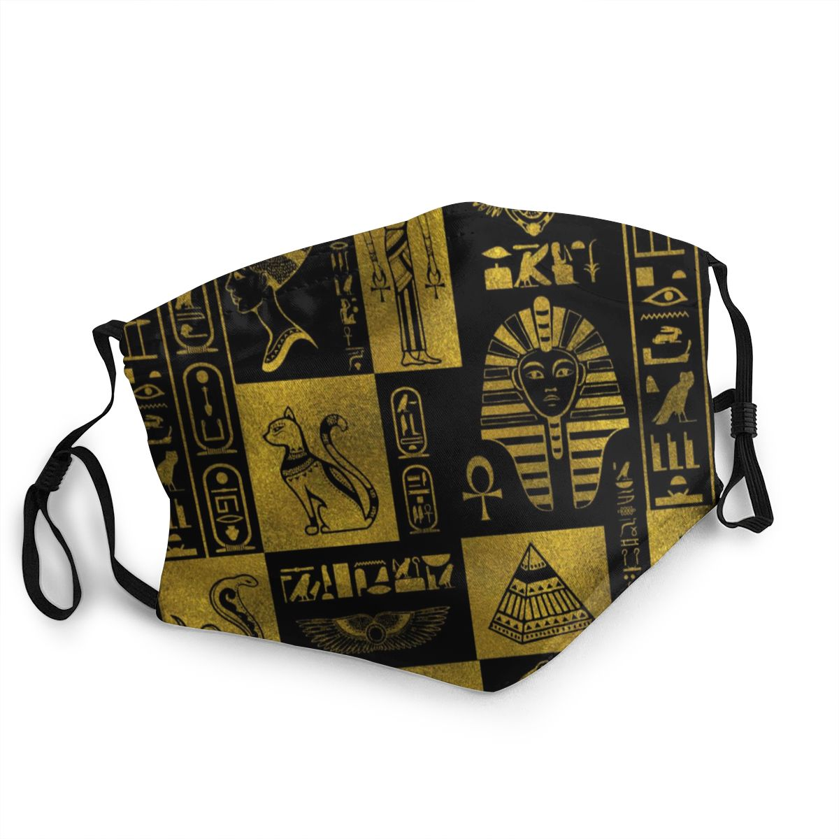 Egyptian Egypt Pharaoh Reusable Mouth Face Mask Anti Bacterial Dust Protection Cover Respirator