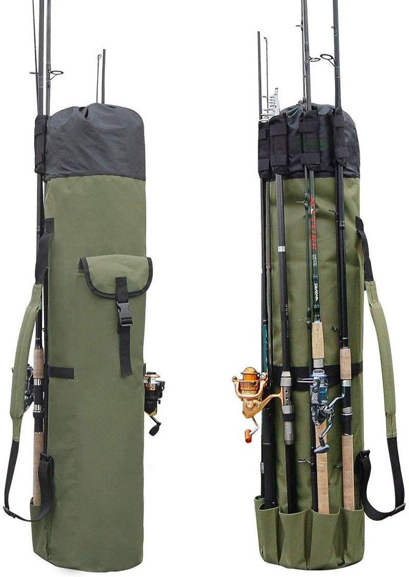 JOYLIVE nylonowa na świeże powietrze wędka torby Case narzędzia sprzęt wędkarski torba do przechowywania plecak o dużej pojemności torba wędkarska wielofunkcyjna