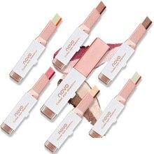 NOVO Two Tone Gradient Velvet Korean Style Eye Makeup Cream Shadow Stick Sleek W