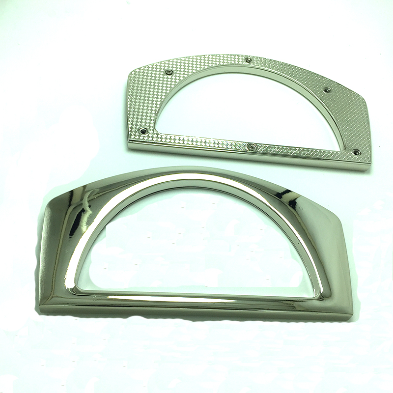 11 X 6.5 Cm Metal Purse Eyelets Handles Grommet Handles  With Screws For Clutch Bag Handbag Accessories 300 Pcs