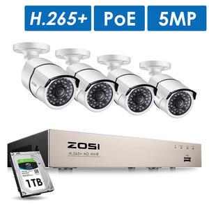 ZOSI System-Kit Ip-Camera CCTV Surveillance Outdoor Home-Video H.265 Nvr-Set HD 8CH 5MP