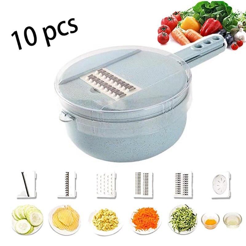 Multifunctional Vegetable Slicer Potato Peeler Carrot Grater Mandoline Vegetable Cutter Shredder Grater Kitchen Accessories