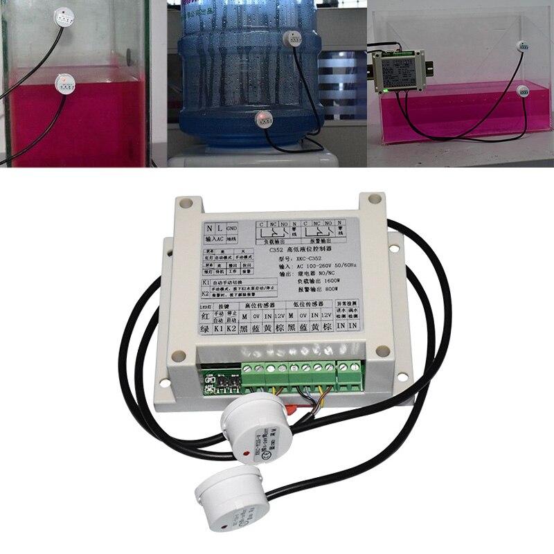 equipamento eletrico supplie nivel liquido detector inteligente sem contato sensor modulo de controle automatico fontes de