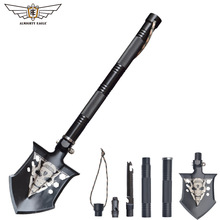 Outdoor Tactical camping shovel Multifunctional multitool Gifts for Father Car tools folding knife Mini shovel Gardening fishing