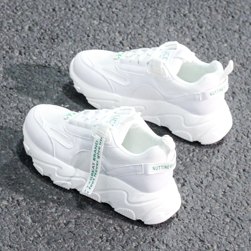 Mhysa / New 2019; Spring Season; Women's Casual Shoes Made Of Mesh Material; Comfortable Shoes On The Platform; Female Sneakers;
