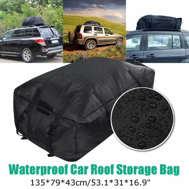 תיק נסיעות לגג הרכב עמיד מפני שמש וגשם 135x79x43cm  1