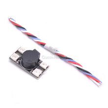 Ultra Big Sound 100db /110db WS2812 5V LED with Alarm Buzzer BB Ring / Lost Model Beeper For F3 F4 F7 FC FPV RC Drone part(China)