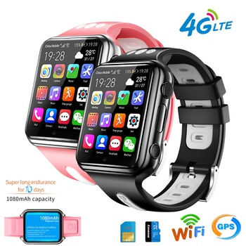 H1 4G GPS Wifi location Student/Children Smart Watch Phone H1/W5 android system app install Bluetooth Smartwatch 4G SIM Card  w5