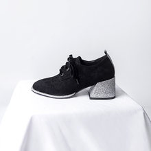 Кроссовки женские кожаные повседневная обувь на шнуровке лоферы
