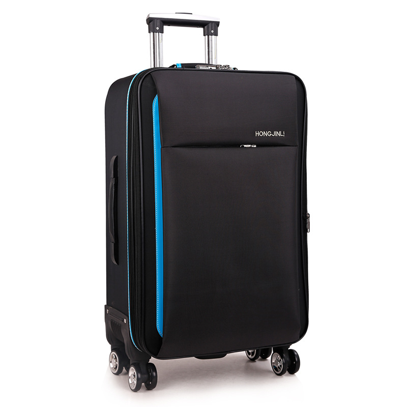 Oxford Cloth Luggage Waterproof Luggage Customizable Universal Wheel Luggage And Suitcase 20-Inch Boarding Bag 24 A Generation O