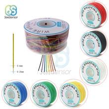 280m 30AWG Flexiblen Verpackung Draht Kabel 0,56mm Elektrische Draht Verpackung Draht Elektrische Draht Kupfer Linie DIY