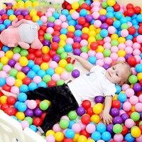 7 см, 100 шт./лот, пластиковые воздушные шарики для сухого бассейна, детские игрушки, мягкие детские шарики для бассейна, красочные мячи для мла...