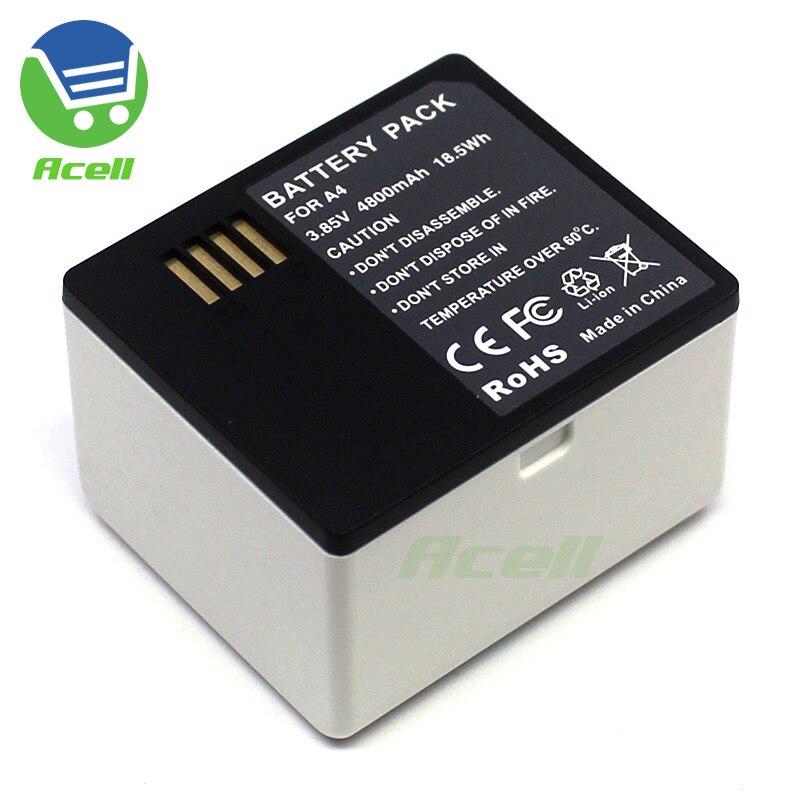 Batería A4 para Arlo Ultra(VMC5040)/ Arlo Pro 3 (vmc40p) cámaras de seguridad sin cables reemplazar A-4a VMA5400 KUULAA batería externa 20000 mAh USB tipo C PD carga rápida + carga rápida 3,0 batería externa 20000 mAh para Xiaomi iPhone