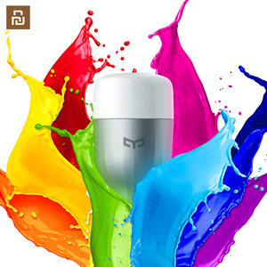 Image 2 - Yeelight 電球 led スマート電球 220 12v E27 9 ワット 600 ルーメンアプリ無線 lan リモートコントロール rgbw ランプ電球カラー版