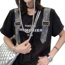 女性サマーレタープリント 夏のファッション ZQY598 tシャツ