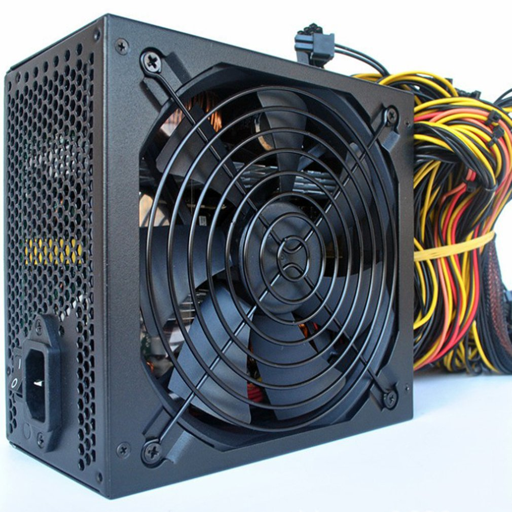 Mining Computer Mining Machine Power Supply Server Dedicated Without Power Cord 6 Cards Server Dedicated Miner Power Supply