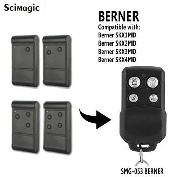 Berner SKX1MD SKX2MD SKX3MD SKX4MD pilot do drzwi garażowych 433MHz nadajnik polecenia bramy mechanizm otwierania drzwi tanie i dobre opinie BERNER remote control 433 92mhz Scimagic-RC SMG-053 BERNER CN (pochodzenie)