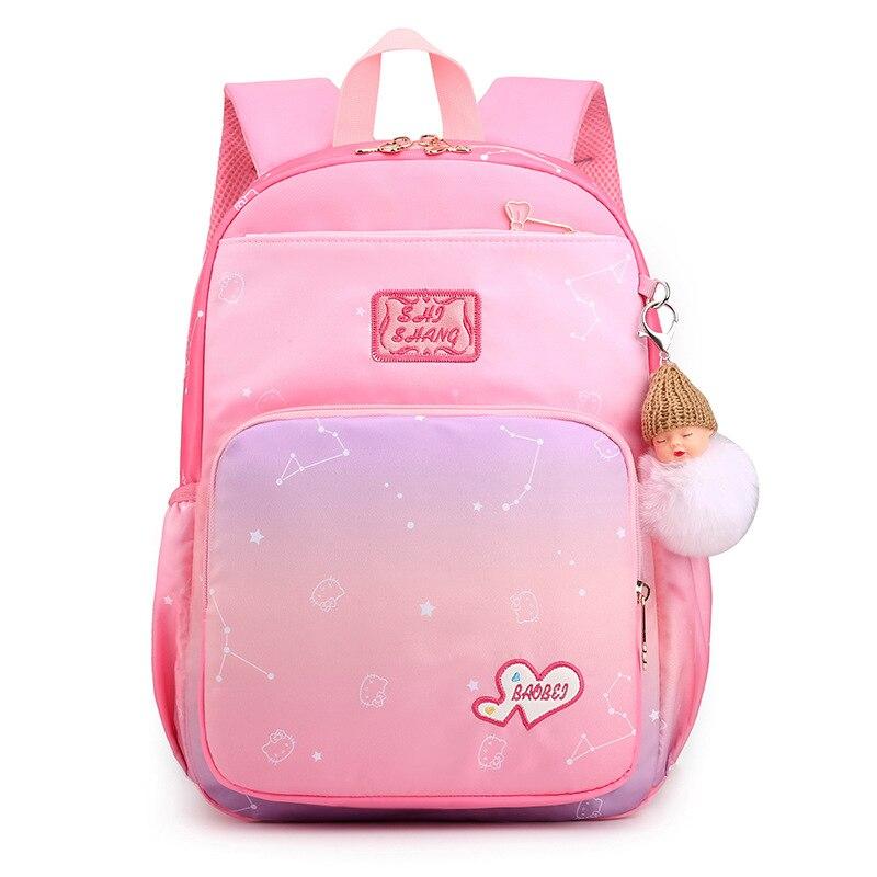Купить школьные ранцы для девочек милые водонепроницаемые детские сумки