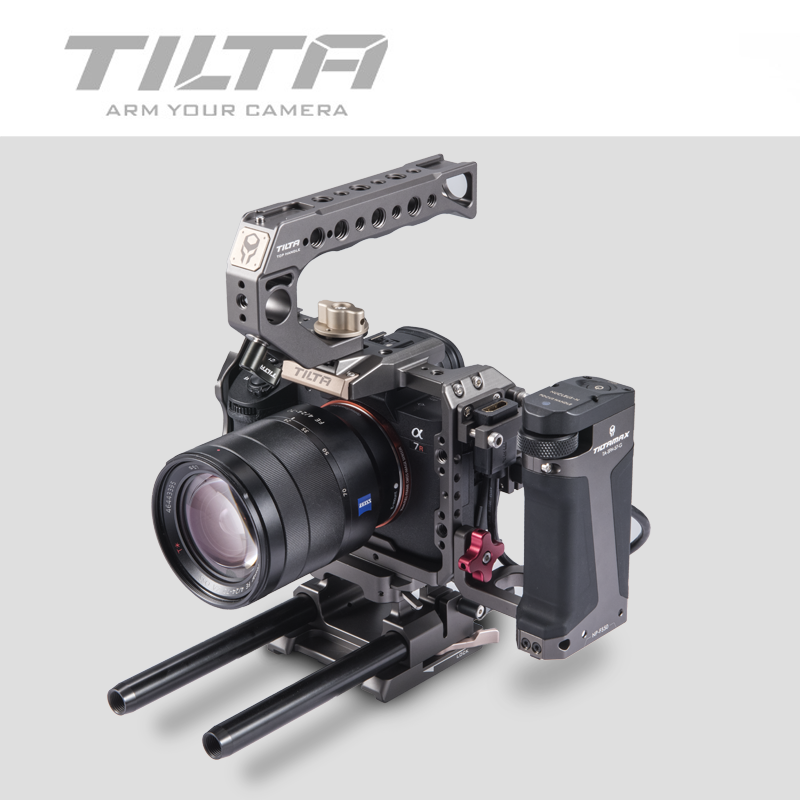 Image 4 - Tilta A7 A9 Rig Kit A7 iii Full Cage TA T17 A G Top Handle  baseplate Focus handle For Sony A7 A9 A7III A7R3 A7M3 A7S3Photo Studio  Accessories