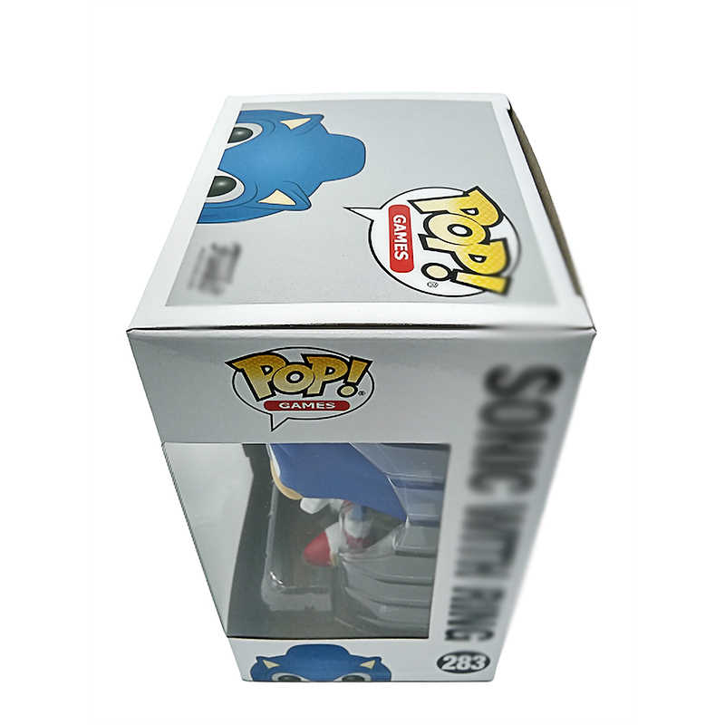 Ohmetoy Sonic The Hedgehog Funko Pop Pvc Poppen #283 Collectible Model Action Figure Speelgoed Voor Verjaardagscadeau