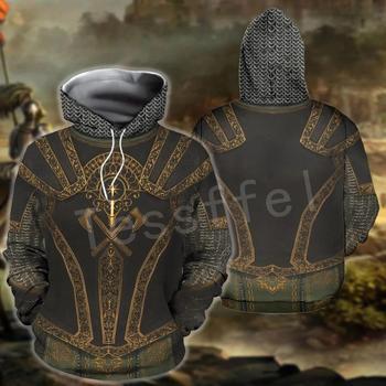 Tessffel Knights Templar Armor Pullover Streetwear Harajuku Tracksuit 3DfullPrint Zipper/Hoodies/Sweatshirt/Jacket/Men/Women s14 1