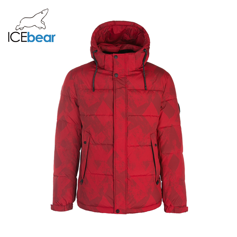 ICEbear 2019 New Men's Winter Jacket Fashion Man Coat Windproof Warm Coats MWD19908I