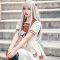 Аниме унитаз-Bound Hanako-kun косплей костюм платье девушка Jibaku Shounen Yashiro Nene школьная форма с париком Женский комплект на Хэллоуин