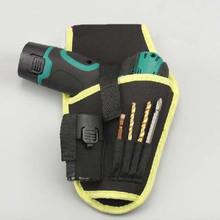 Pouch Drill-Holder Waist-Tool-Bag Canvas Random-Color Cordless Holst Portable for 12v