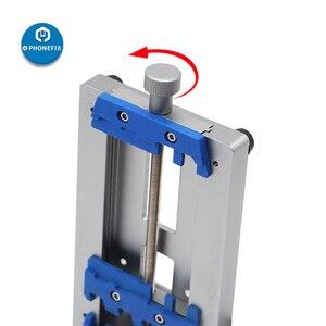 Image 3 - Mj k22 placa de circuito de alta temperatura de solda gabarito fixação para o telefone móvel placa mãe reparação pcb fixação titular