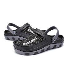 Men's Sandals Literide Garden Outdoor Slippers Hole-Shoes Wood Crocsk Summer New