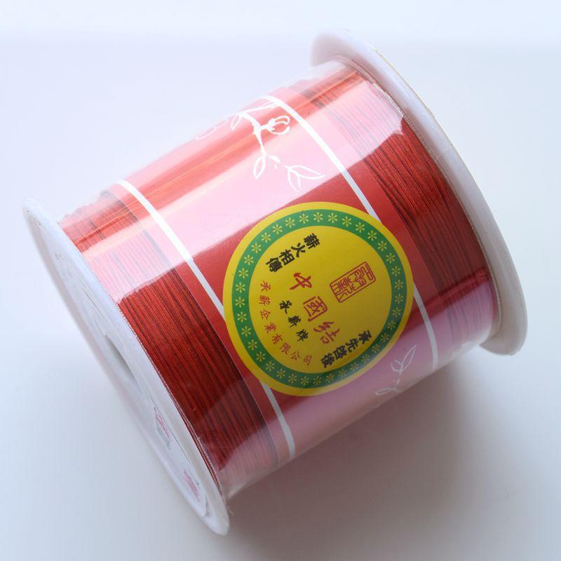 Купить 140 м/рулон 04 мм нейлоновый шнур бисер китайский узел нить