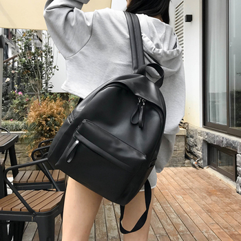 Женский рюкзак из мягкой искусственной кожи