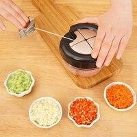Кухонный набор, ручной измельчитель пищи, бытовой измельчитель для овощей, измельчитель, Многофункциональный кухонный комбайн, мясорубка, ...