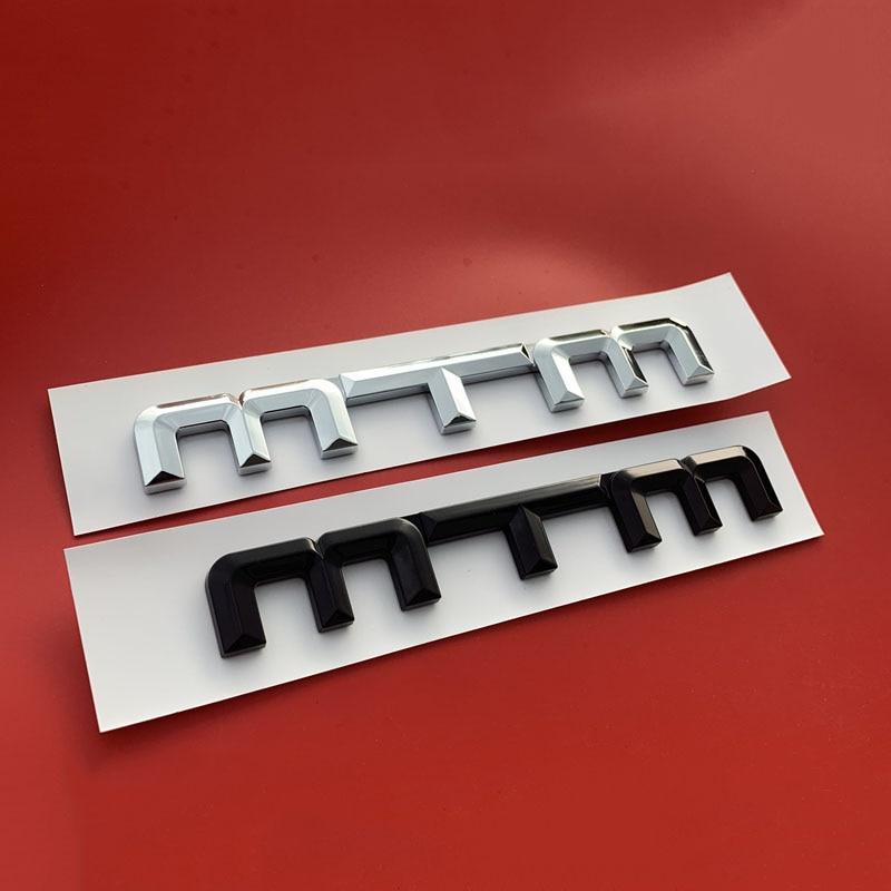 New A3 2.0T Quattro Chrome Emblem 3d Trunk Logo Badge Decoration fits Audi A3
